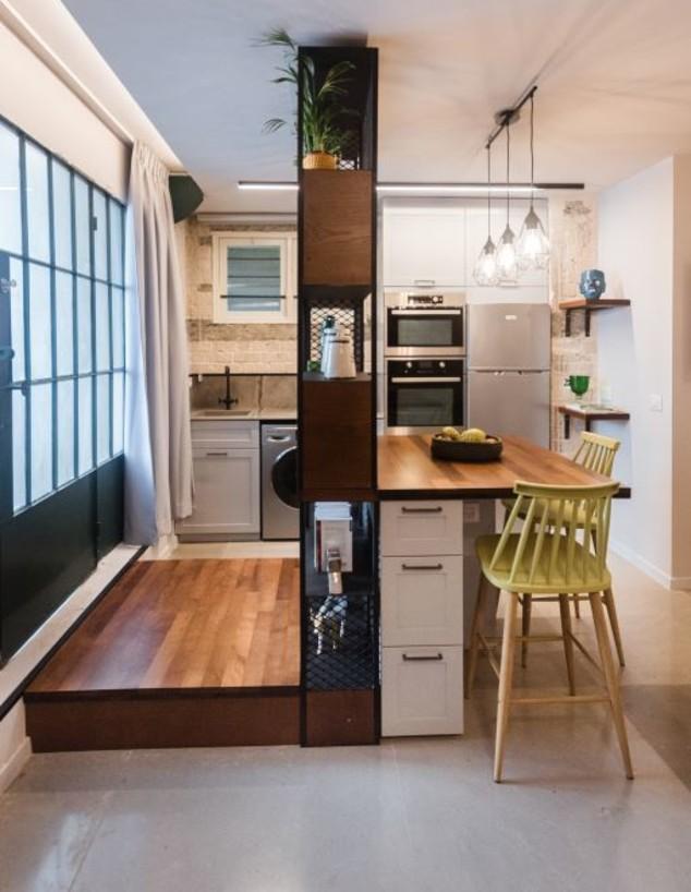 אי מטבח, ג, עיצוב אדריכל בועז שניר (צילום: ולרי זיוז)