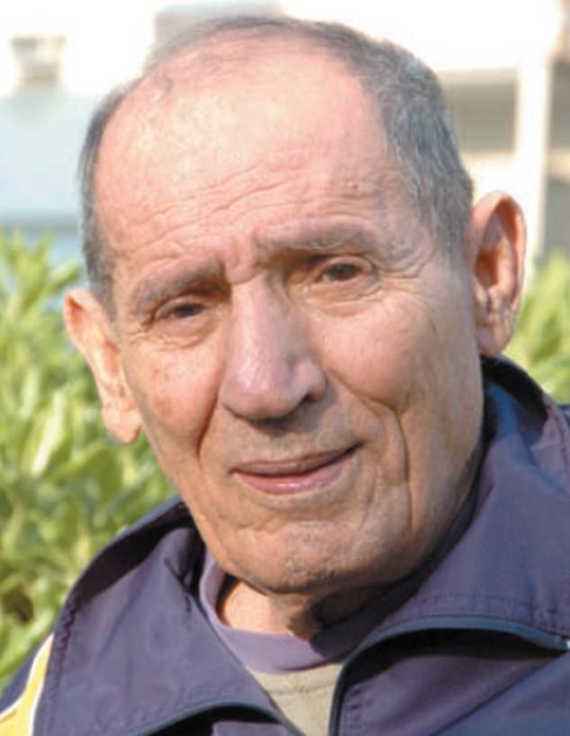 """יצחק ג'יבלי ב-2007 (צילום: ברית שליט, עיתון במחנה, מתוך """"אתר הגבורה"""")"""