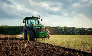 משק חקלאי, נחלה, שדות (צילום: shutterstock)