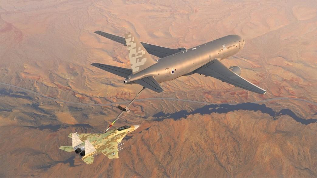 המטוס (צילום: משרד הביטחון)