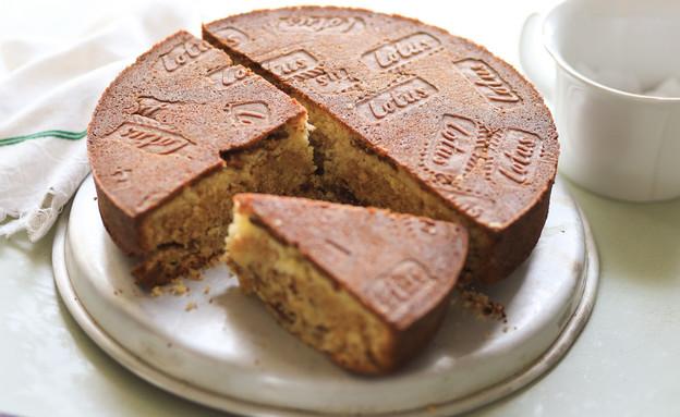 עוגת לוטוס שכבות (צילום: קרן אגם, אוכל טוב)