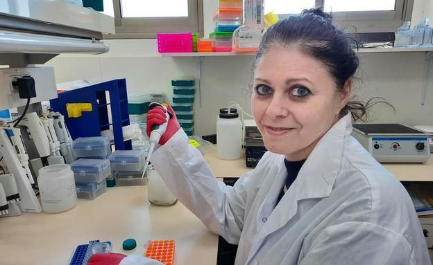 """ד""""ר דורית אבני, ראש המעבדה במכון מיגל  (צילום: אפרת קנר)"""