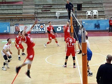 (צילום: מאור הד, באדיבות איגוד הכדורעף) (צילום: ספורט 5)