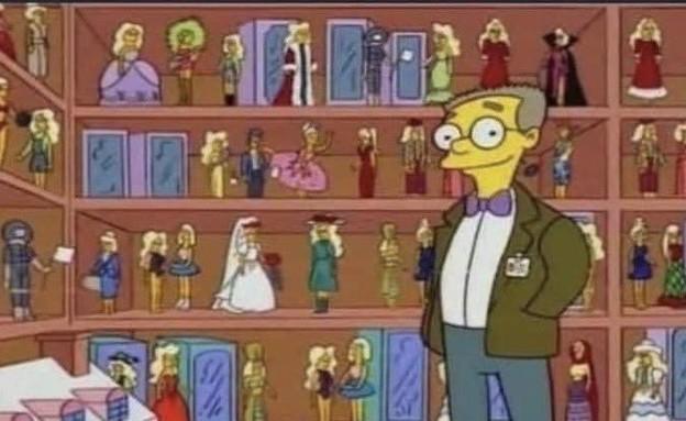 """ווילון סמית'רס (צילום: מתוך """"The Simpsons"""")"""