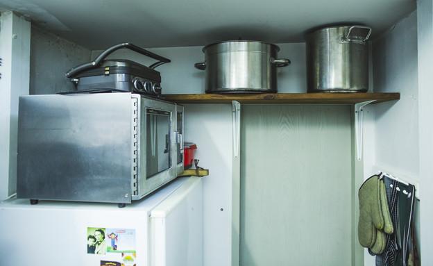 המטבח של אבנר רוזנטליס (צילום: עופר חן)