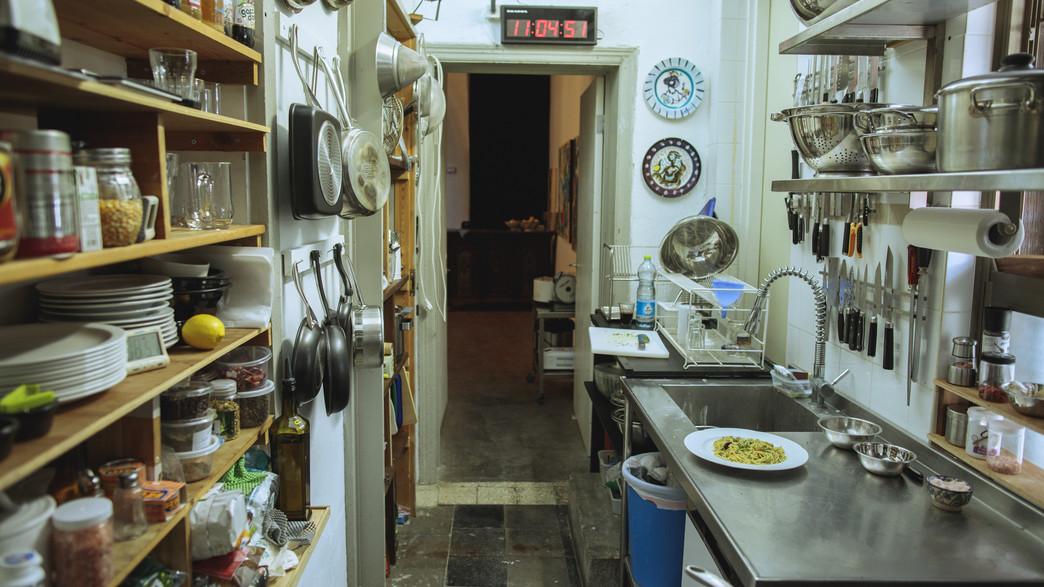 המטבח של מתמודד מאסטר שף (צילום: עופר חן)