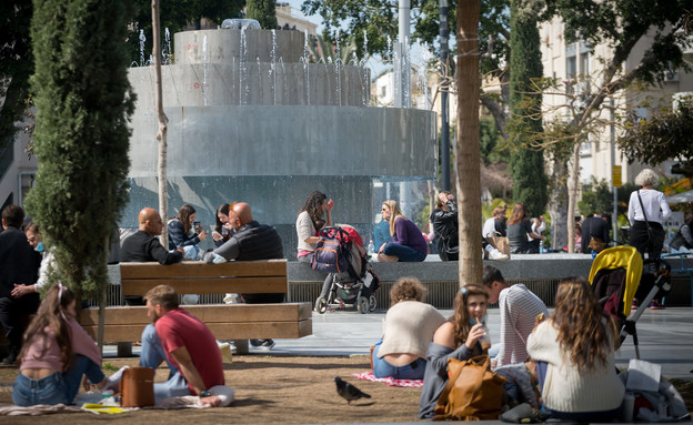 כיכר דיזינגוף (צילום: מרים אלסטר, פלאש 90)
