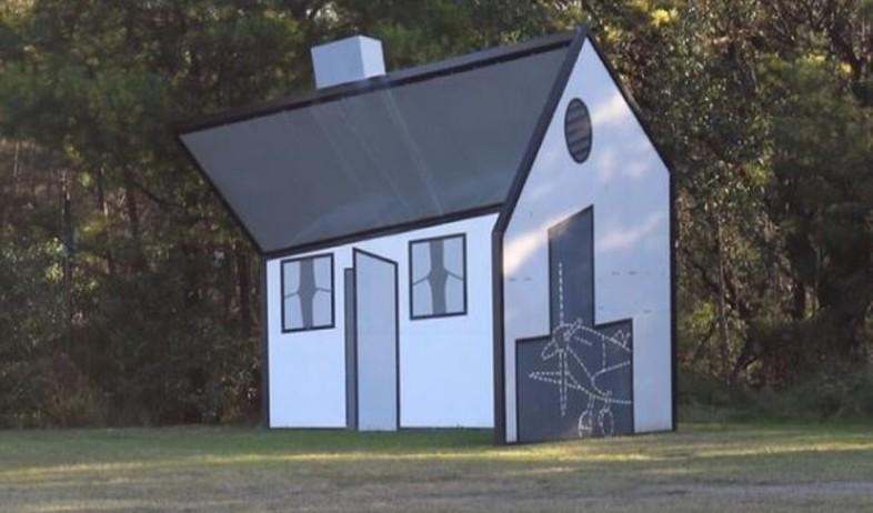 בית טיקטוק (צילום: אינסטגרם hiddensydney)