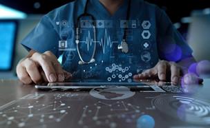 רפואה דיגיטלית (צילום: shutterstock By everything possible)