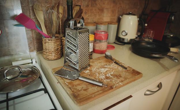 המטבח של גיא בימקה (צילום: עופר חן)