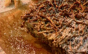 פשטידת אטריות ושוקולד34549 (תמונת AVI: גיל חובב מגיש:המנה של המדינה)