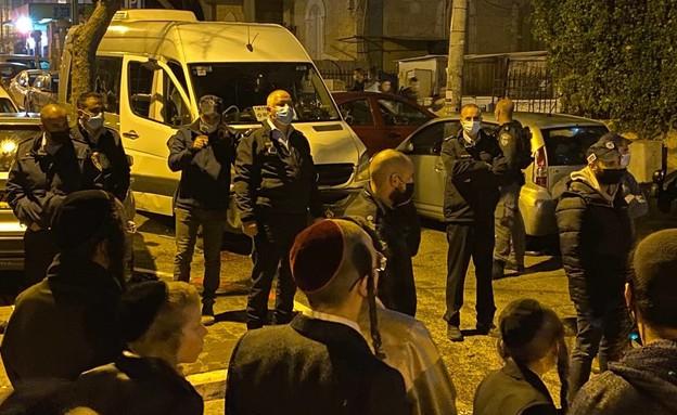 דריסה בירושלים  (צילום: החדשות 12, החדשות12)
