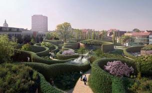 מוזיאון הנס כריסטיאן אנדרסן (הדמיה: Kengo Kuma & Associates, Cornelius Vöge, MASU planning)