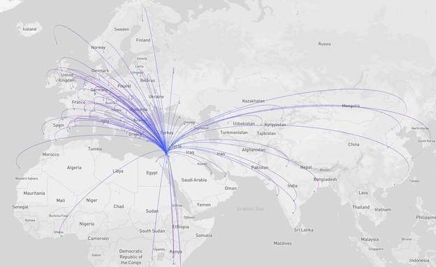 טיסות מיוחדות (צילום: באדיבות ישראייר)