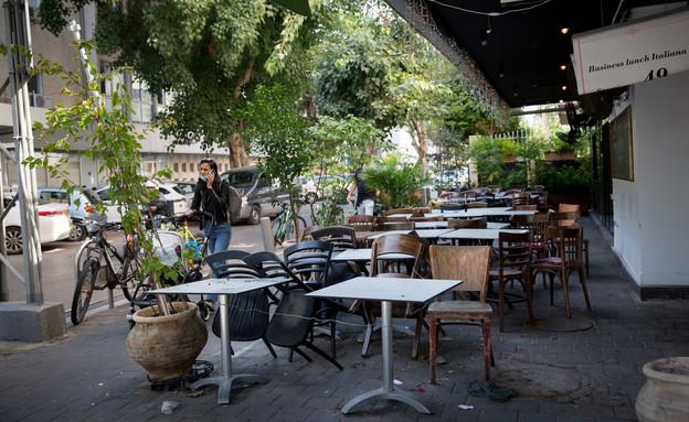 עסקים סגורים בזמן משבר הקורונה בישראל (צילום: מרים אלסטר, פלאש 90)
