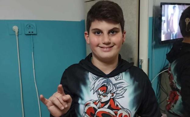 ליאור חזרון בן ה-11