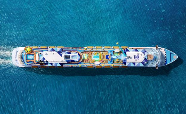 """ענקית השיט ROYAL CARIBBEAN (צילום: יח""""צ)"""