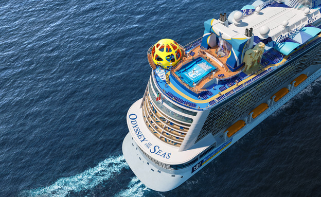 "ענקית השיט ROYAL CARIBBEAN (צילום: יח""צ)"