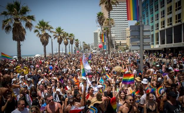 מצעד הגאווה בתל אביב (צילום: Miriam Alster Flash90, פלאש 90)