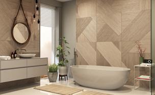 חדר אמבטיה מעוצב (צילום: shutterstock By Julia Vadi)