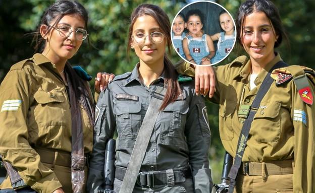 """הלוחמות (צילום: דוברות מג""""ב, משטרת ישראל)"""