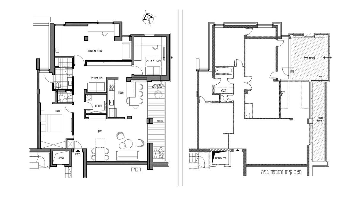 בית בירושלים, עיצוב נינה לובושיץ קורלנד, תוכניות