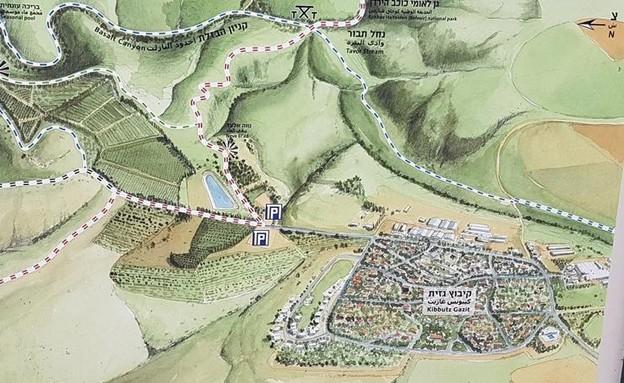 מפת מסלול (צילום: צילום מסך)