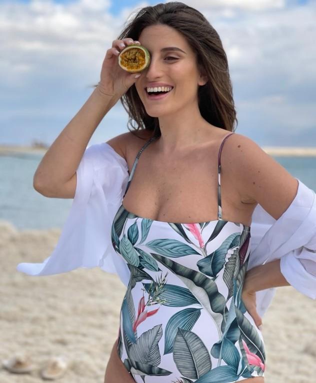 דנה זרמון בבגד ים, מרץ 2021