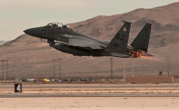 המטוס (צילום: Joshua Kleinholz/AF)