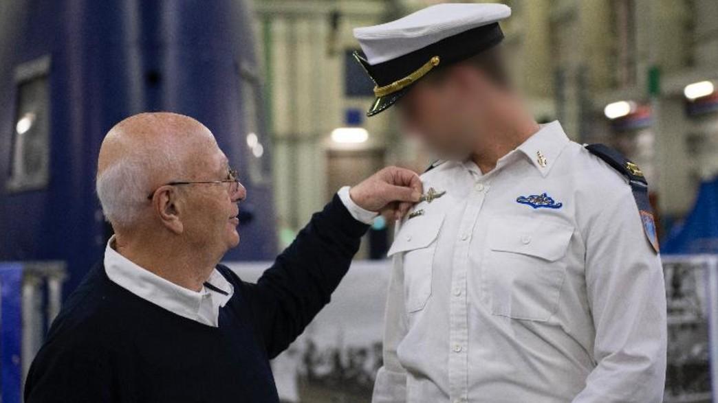 """סגירת מעגל בחיל הים (צילום: דובר צה""""ל )"""