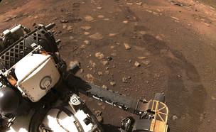 """צילום של כלי הרכב ששלחה נאס""""א למאדים (צילום: AP)"""