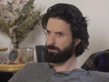 ארז דריגס בראיון לדנה ויס (צילום: חדשות 12)