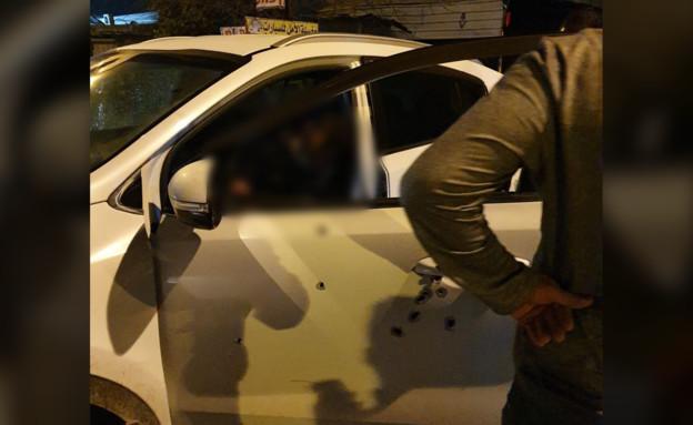 """מנכ""""ל העירייה קלנסווה נפצע מירי באורח קשה (צילום: עמאר אסאדי)"""