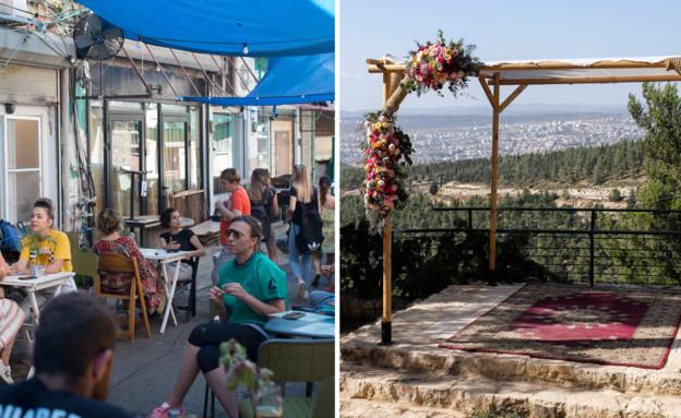 פתיחת מסעדות ואולמות אירועים (צילום: flash90, פלאש 90)