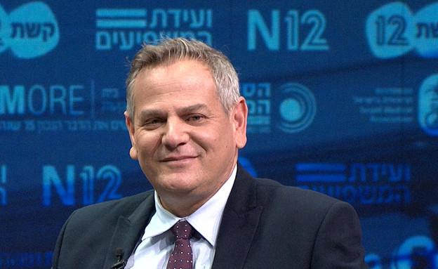 שיחה עם ניצן הורוביץ (צילום: ועידת המשפיעים 2021, קשת 12)