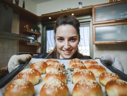 המטבח של מיטל רייכל (צילום: עופר חן)