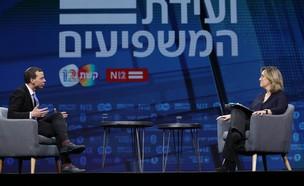 אילנה דיין ועמית סגל  (צילום: אלי דסה)