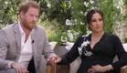 הנסיך הארי ומייגן מרקל בראיון אצל אופרה ווינפרי (צילום: cbsnews.com, צילום מסך)