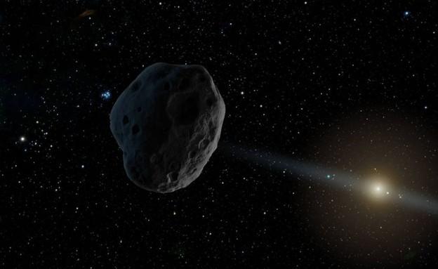 הגנה מפני אסטרואידים (עיבוד: NASA)