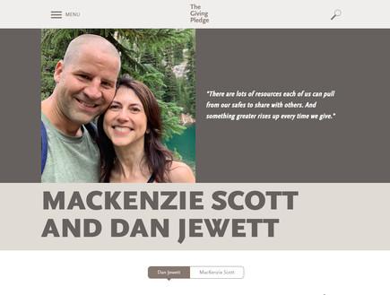 מקנזי סקוט הודעת נישואים (צילום: צילום מסך)