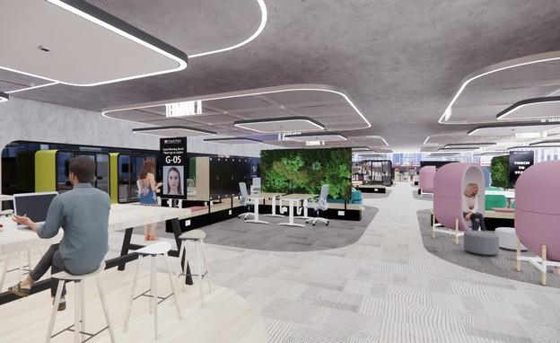 משרדי העתיד של צ'ק פוינט (צילום: אורבך הלוי אדריכלים)