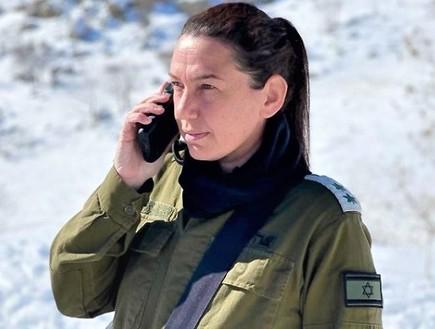 """סא''ל ענת הרשקוביץ  (צילום: דובר צה""""ל)"""