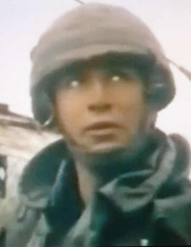 """גיא חן, רכז שב""""כ לשעבר, בימיו בצבא (צילום: באדיבות המצולם)"""