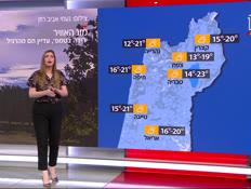 תחזית מזג האוויר - 10.03.2021 (צילום: חדשות)