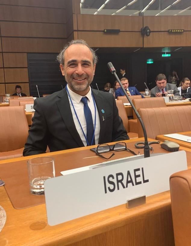 הראל בן עמי, נציג סוכנות החלל הישראלית