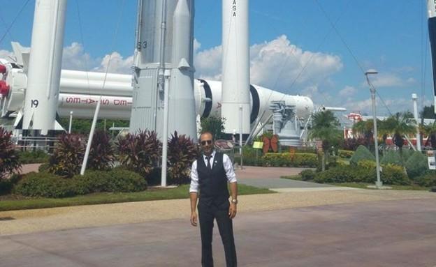 הראל בן עמי,  נציג הסוכנות החלל הישראלית בוועדת האום להגנה מפני אס (צילום: אלבום פרטי)