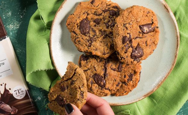 עוגיות שוקולד צ'יפס עם רכיב מפתיע (צילום: דניאל שכטר)