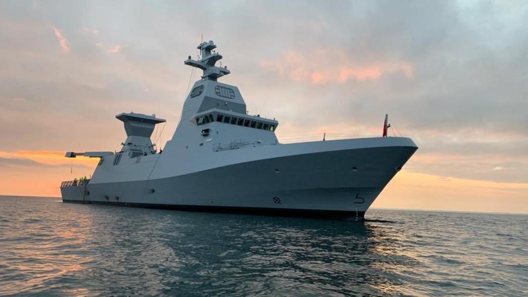 """ספינת אח""""י מגן (צילום: דובר צה""""ל)"""