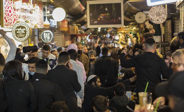 מחנה יהודה ירושלים (צילום: אוליביה פיטוסי/פלאש90)