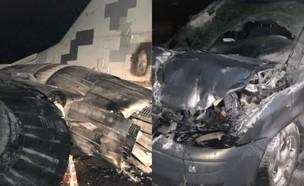 התאונה (צילום: Conflicts, Twitter)